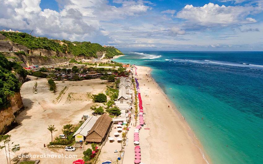 ساحل پانداوا بالی Nusa Dua Bali | Pandawa Beach