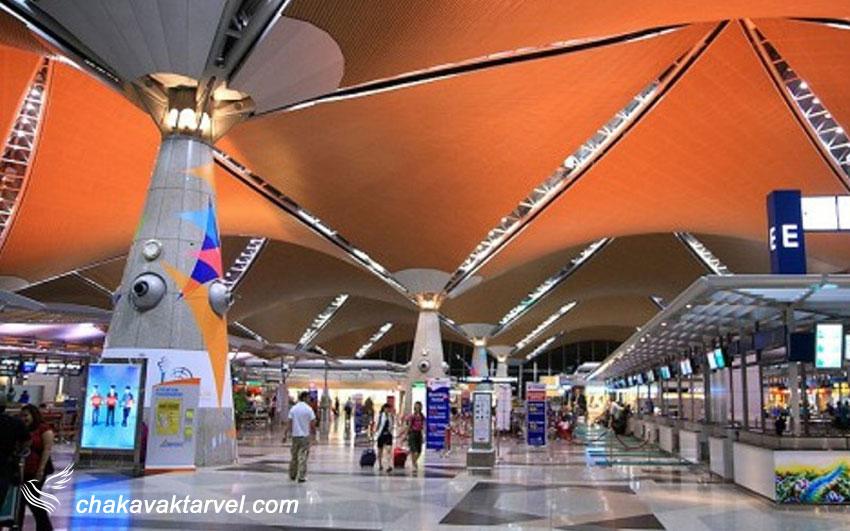 محل فرارگیری فرودگاه و اطلاعات تماسی فرودگاه بین المللی کوالالامپور مالزی