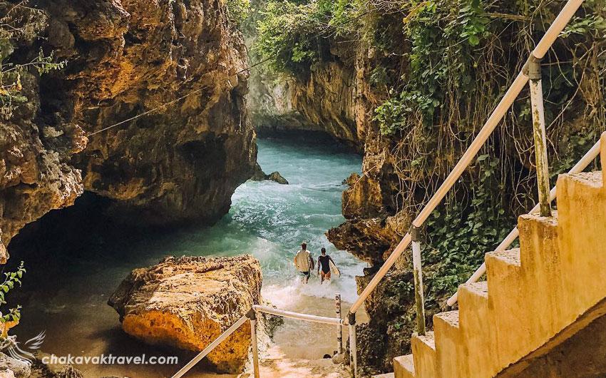 تجربه شیرین رسیدن به ساحل Suluban