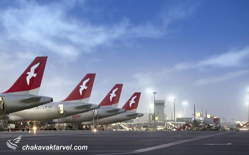 اهمیت فرودگاه بین المللی شارجه Sharjah International Airport امارات SHJ  رای ایرلاین ایرعربیا