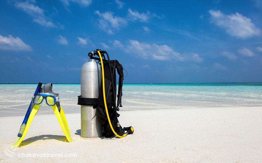 تاریخچه غواصی لوازم اسنورکلینگ Snorkeling و غواصی معمولی Underwater Diving