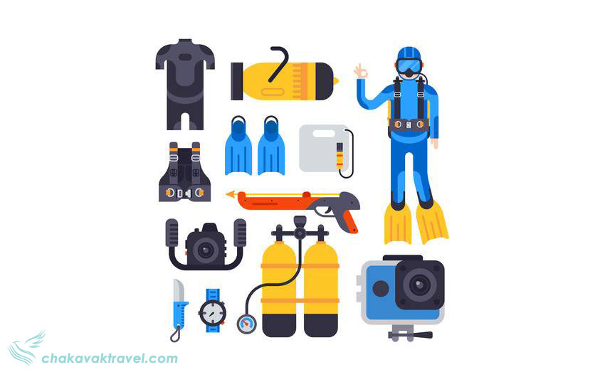 آشنایی با تجهیزات اسکوبا Scuba چیست؟ رگلاتور غواصی چیست؟ کپسول اسکوبا یا تانک هوا لوازم اسنورکلینگ Snorkeling و غواصی معمولی Underwater Diving