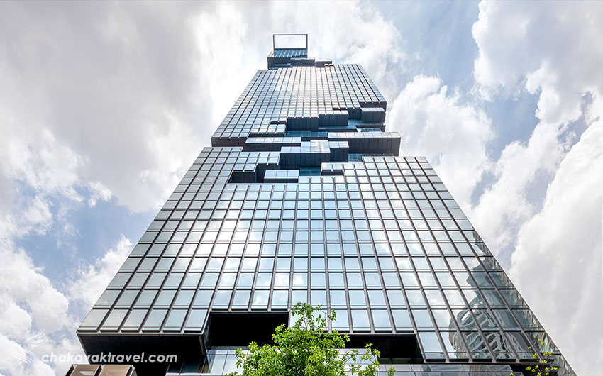 معماری و طراحی منحصر بفرد این آسمان خراش کینگ پاور ماهاناخون