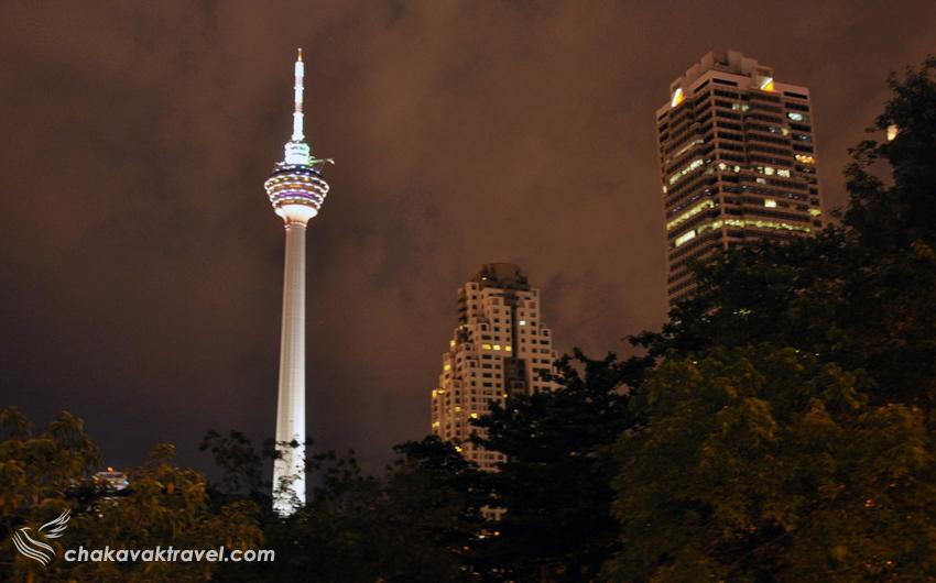 برج مخابراتی کوالالامپور کی ال منارا یا KL Menara - Kuala Lumpur Tower