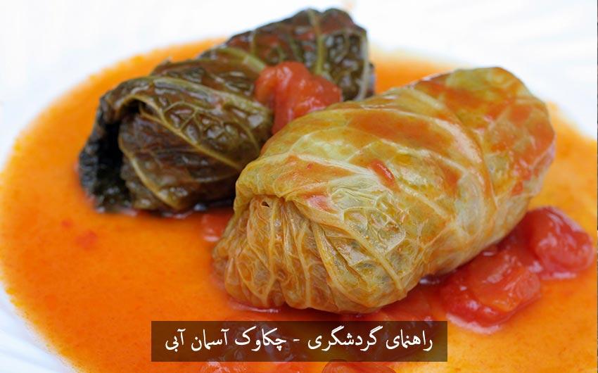 یاپراک سارما yaprak sarma یا دلمه برگ غذای محلی ترکیه یاپراک سارماسی Yaprak Sarması