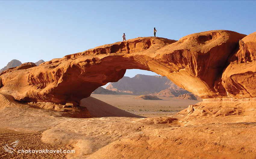 بیابان وادی رم در اردن Wadi Rum صحرای وادی روم