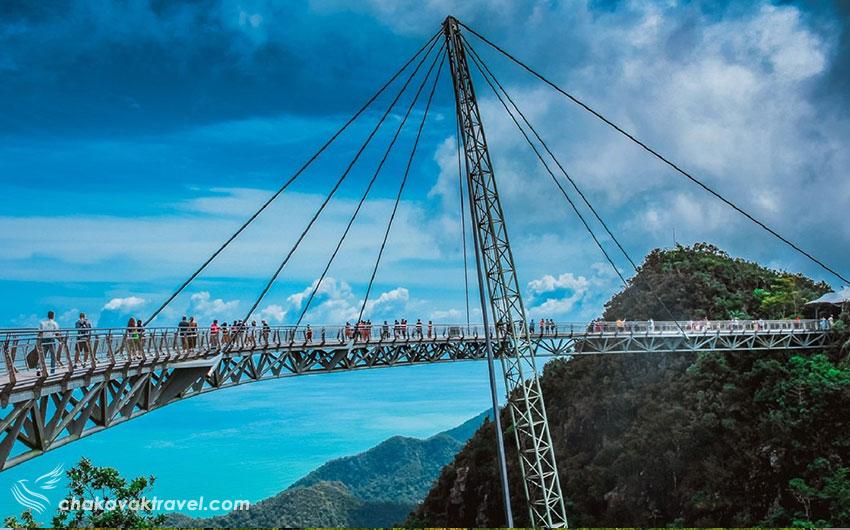 پل هوایی لنکاوی در مالزی Langkawi Sky Bridge